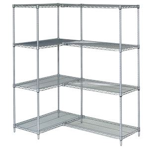 wire shelf for organization