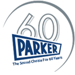 Parker 60 years logo
