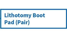 lithotomy boot pad pair