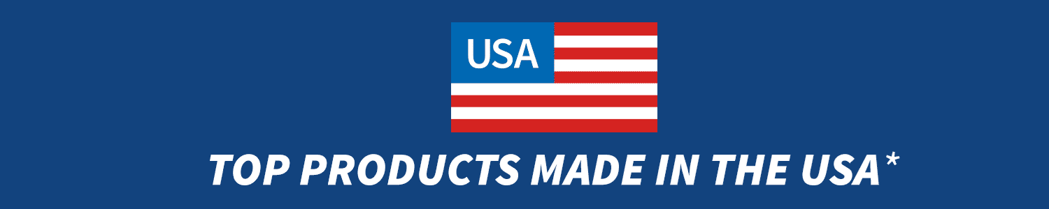 Top products made in the USA