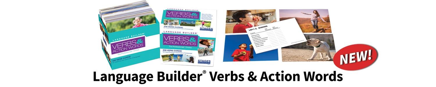 Language Builder Verbs & Action Words Photo Cards Hero