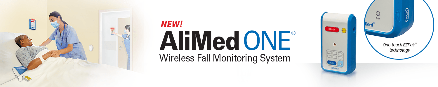 New! AliMed ONE™ Wireless Fall Management System