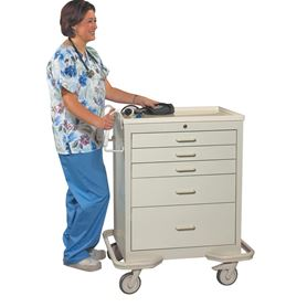 AliMed Standard Series Procedure/Anesthesia Carts