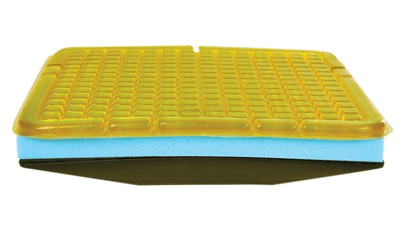 AliMed® T-Gel™ Plus Checkerboard Cushion w/Solid Seat Insert