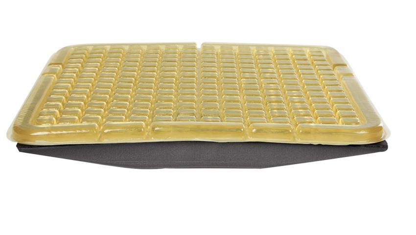 AliMed® T-Gel™ Checkerboard Cushion w/Solid Seat Insert