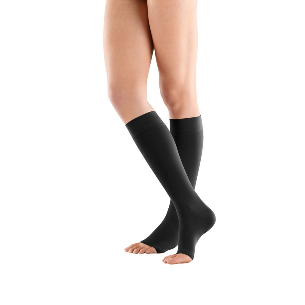 e995b1bc19 Bauerfeind VenoTrain micro AD Open Toe Compression Stockings, Knee-High