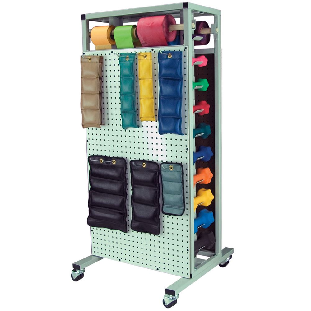 Free Weights Storage: Combo Cuff Weight Storage Rack