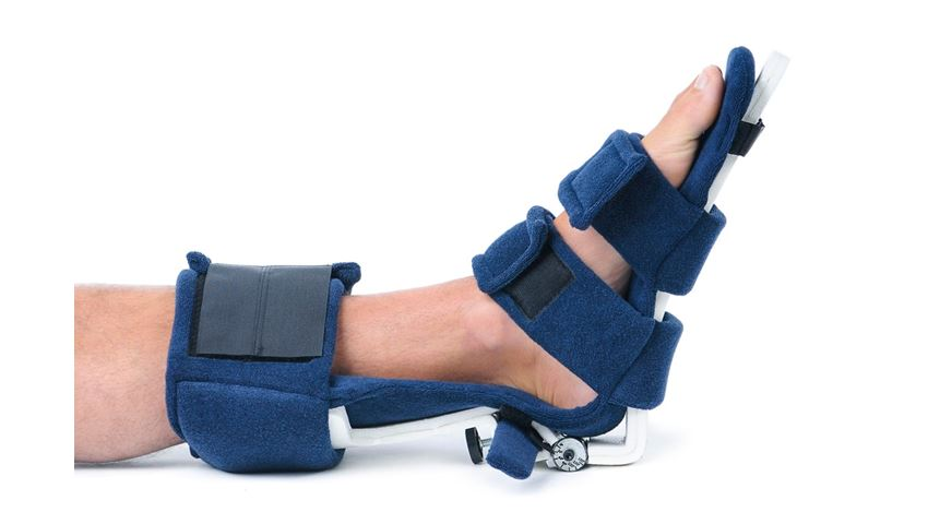 Comfy AFO: Spring Loaded Ankle-Foot Orthosis