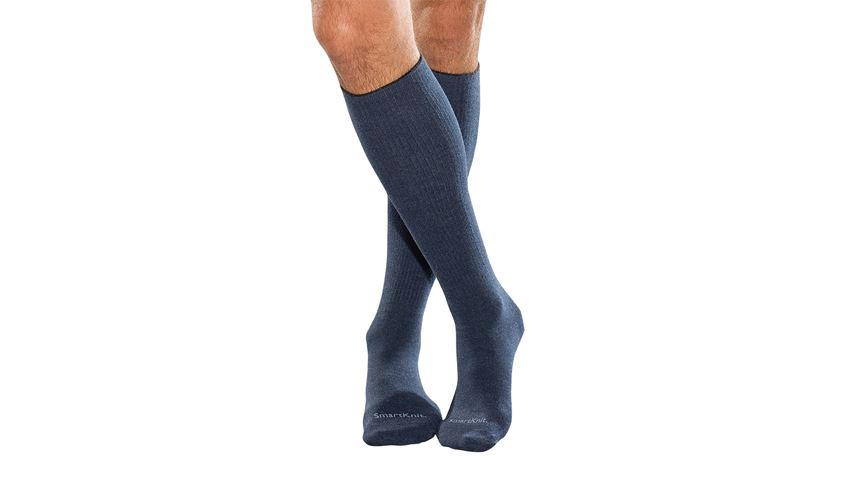 SmartKknit® X_STATIC®, Over the Calf, Navy