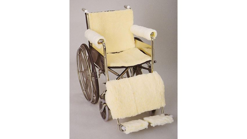SkiL-Care™ Synthetic Sheepskin Wheelchair Accessories
