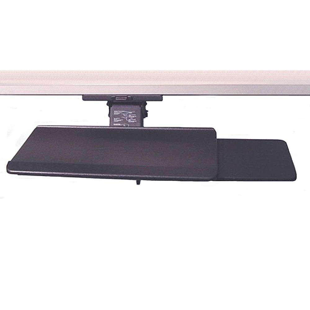 Retractable Keyboard Tray W/Mouse Pad Or Mouse Tray