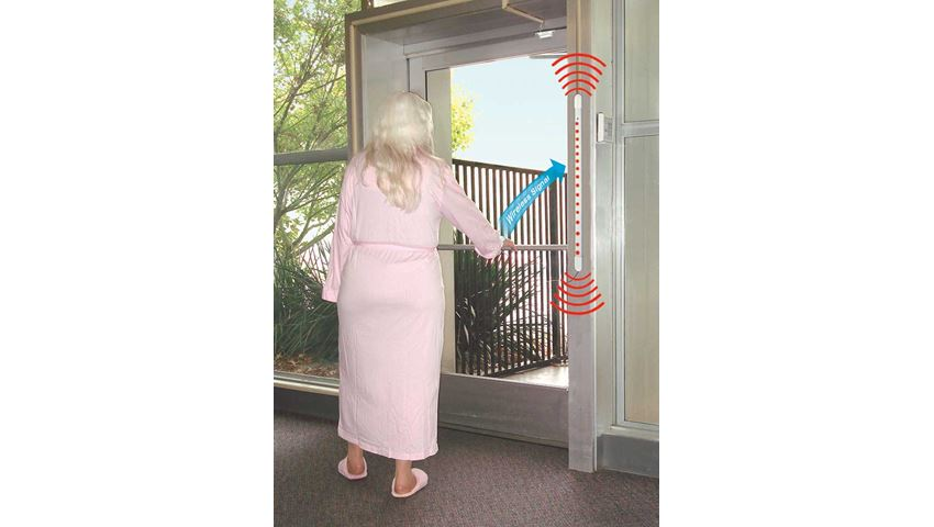 Easy-to-Install™ Anti-Wandering Door Bar System