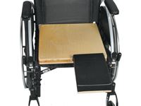 AliMed® Unpadded Amputee Seat Cushion
