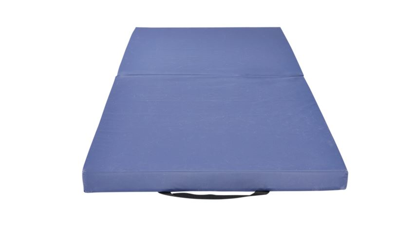 AliMed® Economy Bi-Fold Bedside Fall Mat with Handles