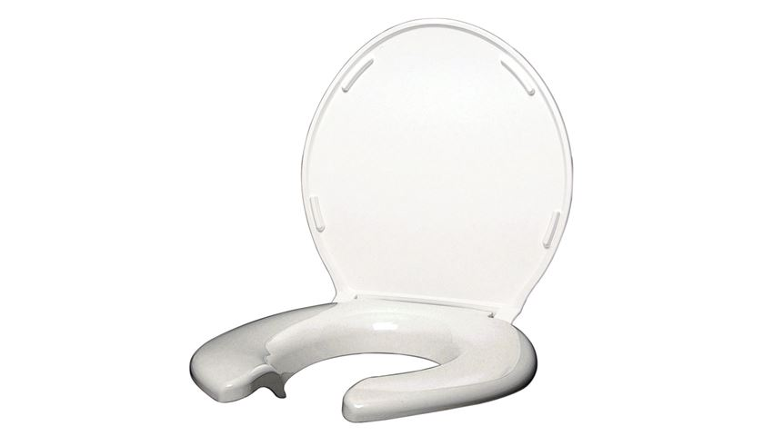 Big John Bariatric Toilet Seat, Open Front