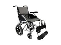 Karman S-ERGO 115 Transport Wheelchair