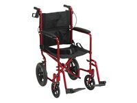 "Expedition Transport Chair w/Loop Lock, 12"" Rear Wheels"