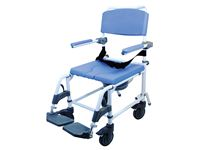 Healthline® EZee Life Aluminum Shower-Commode Chair
