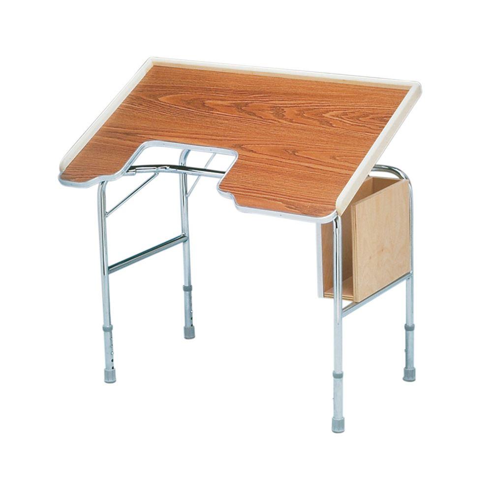Height Adjustable Tilt Top Work Table