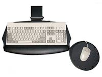 ISE EZ-Touch Lever-Free Keyboard Tray