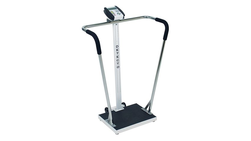 DETECTO® Handrail Stand-On Scales