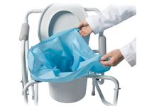 THE SANI-BAG+® Commode Liners