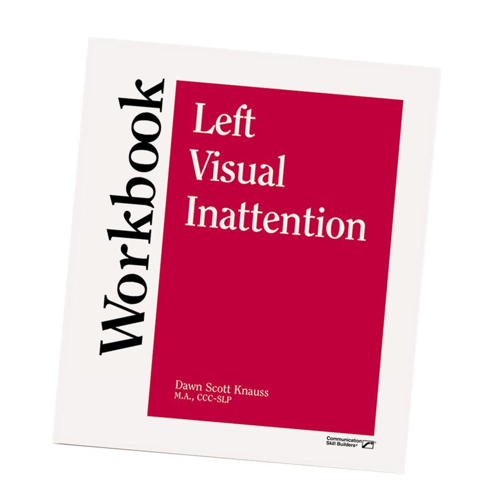 Workbooks speech therapy workbooks : Left Visual Inattention Workbook