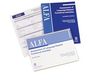 Assessment of Language Related Functional Activities (ALFA)