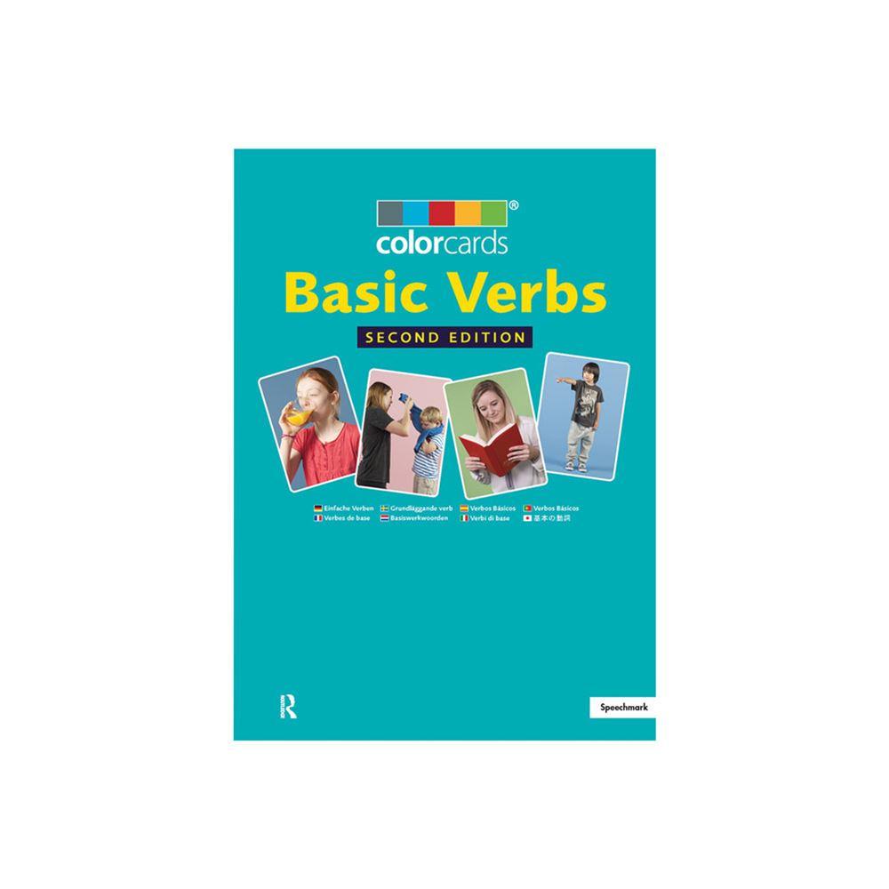 speechmark colorcards basic verbs