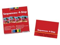 Speechmark® ColorCards® Sequences: 4-Step Color Cards