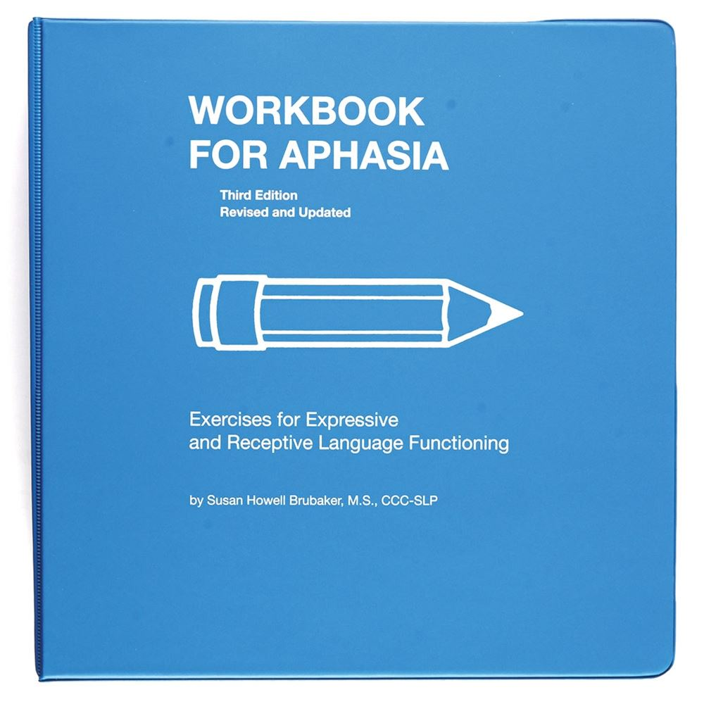 Workbooks infection control workbook : Workbooks for Aphasia