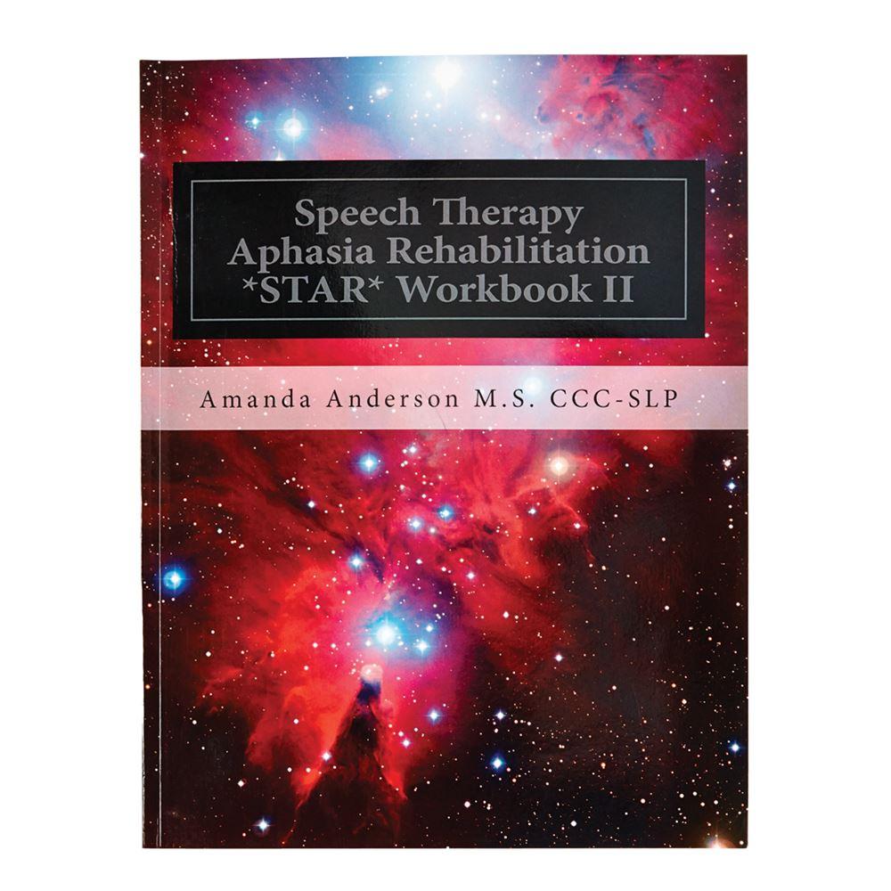 Workbooks therapy workbooks : Speech Therapy Aphasia Rehabilitation Workbook (STAR)
