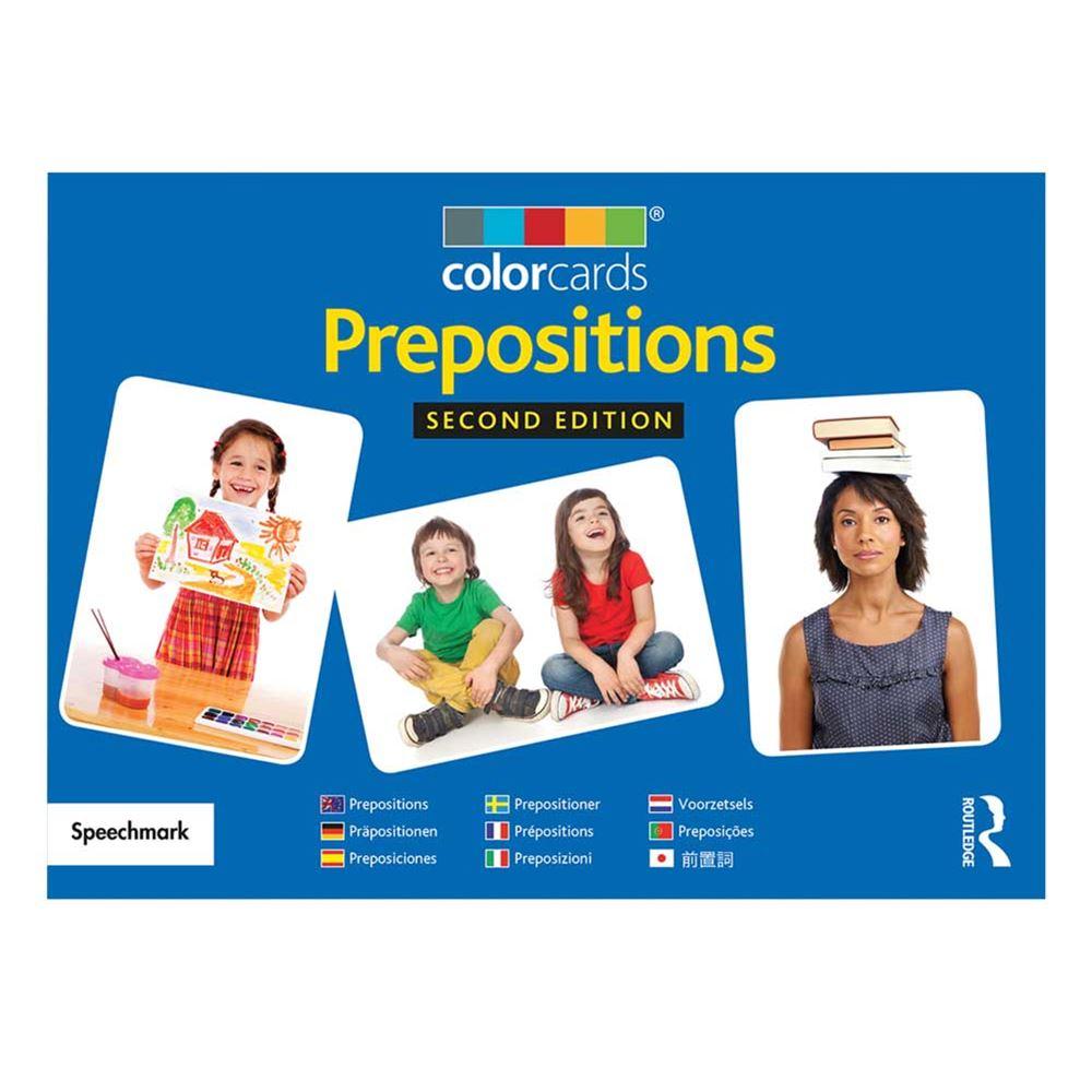 colorcards prepositions