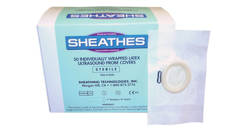 Sterile Rolled Latex Probe Covers