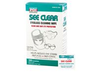PDI® See Clear® Eyeglass Cleaning Wipes