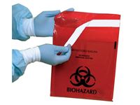 Stick-on Biohazard Bags