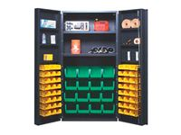 "Quantum® Storage 36""W All-Welded Bin Cabinets"