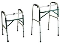 Folding Adjustable-Height Walker
