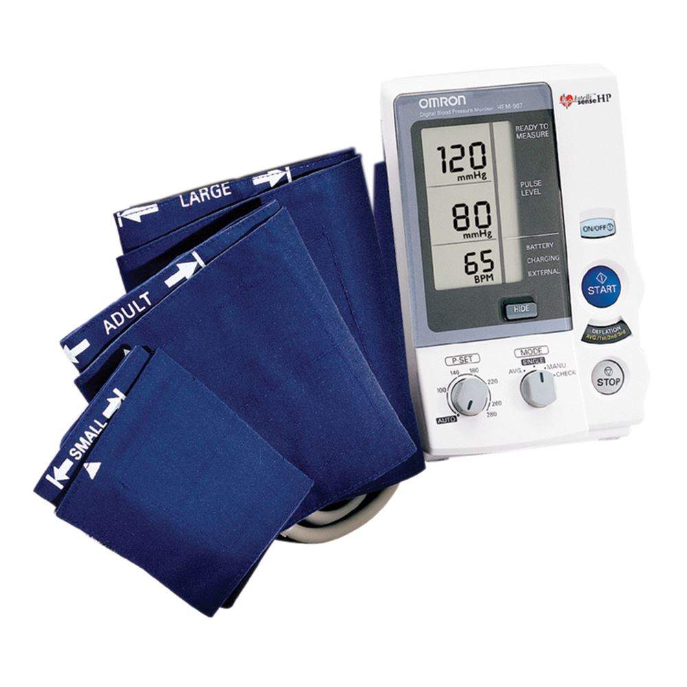 Omron Hem 907 Xl Auto Cuff Blood Pressure Monitor
