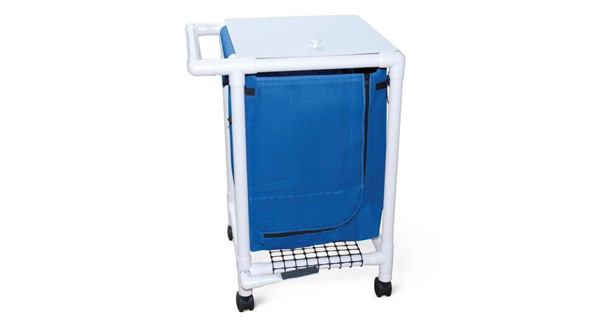 Medline® PVC Single Basket Hamper