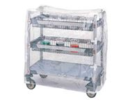 Metro Clear Vinyl Cart Covers