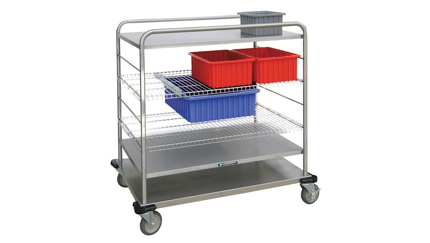 Lakeside® Distribution Supply Cart, 38.5