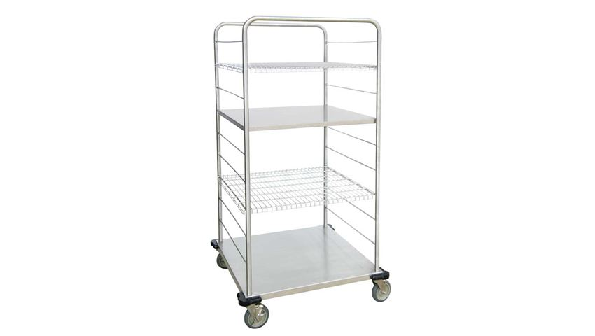 Lakeside® Distribution Supply Cart, 32.5