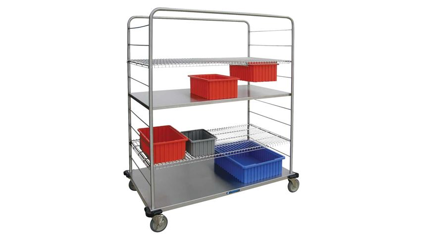 Lakeside® Distribution Supply Cart, 27.5