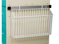AliMed® Cart Accessory, Wire Basket Chart Holder