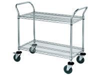 AliMed® Wire Utility Cart, 2 Shelf