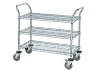AliMed® Wire Utility Cart, 3-Shelf