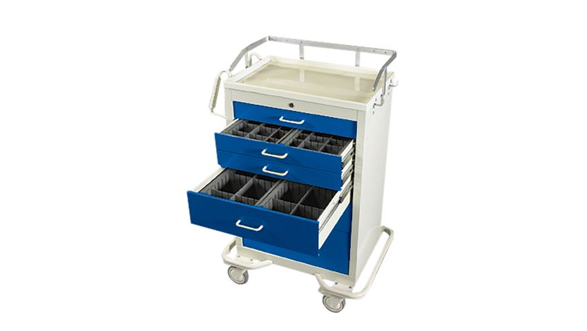AliMed® Standard Series Anesthesia Cart Accessory Packages