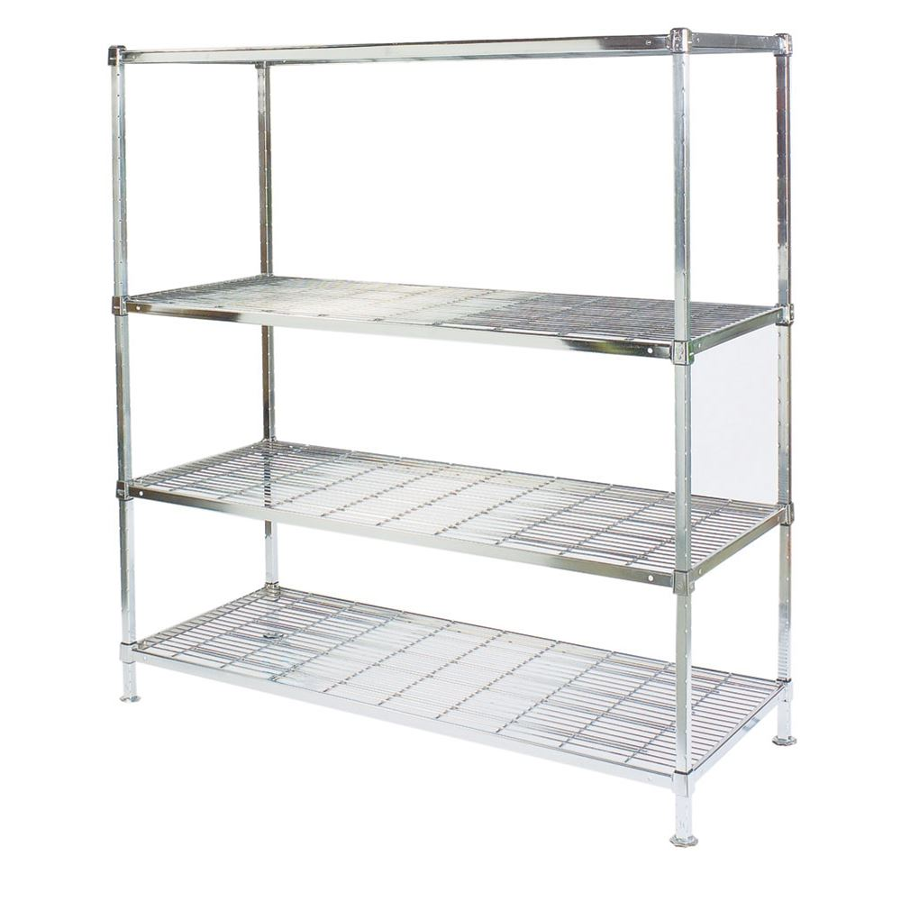 Square Post Wire Shelving Starter Units