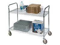 Wire Shelf Utility Carts